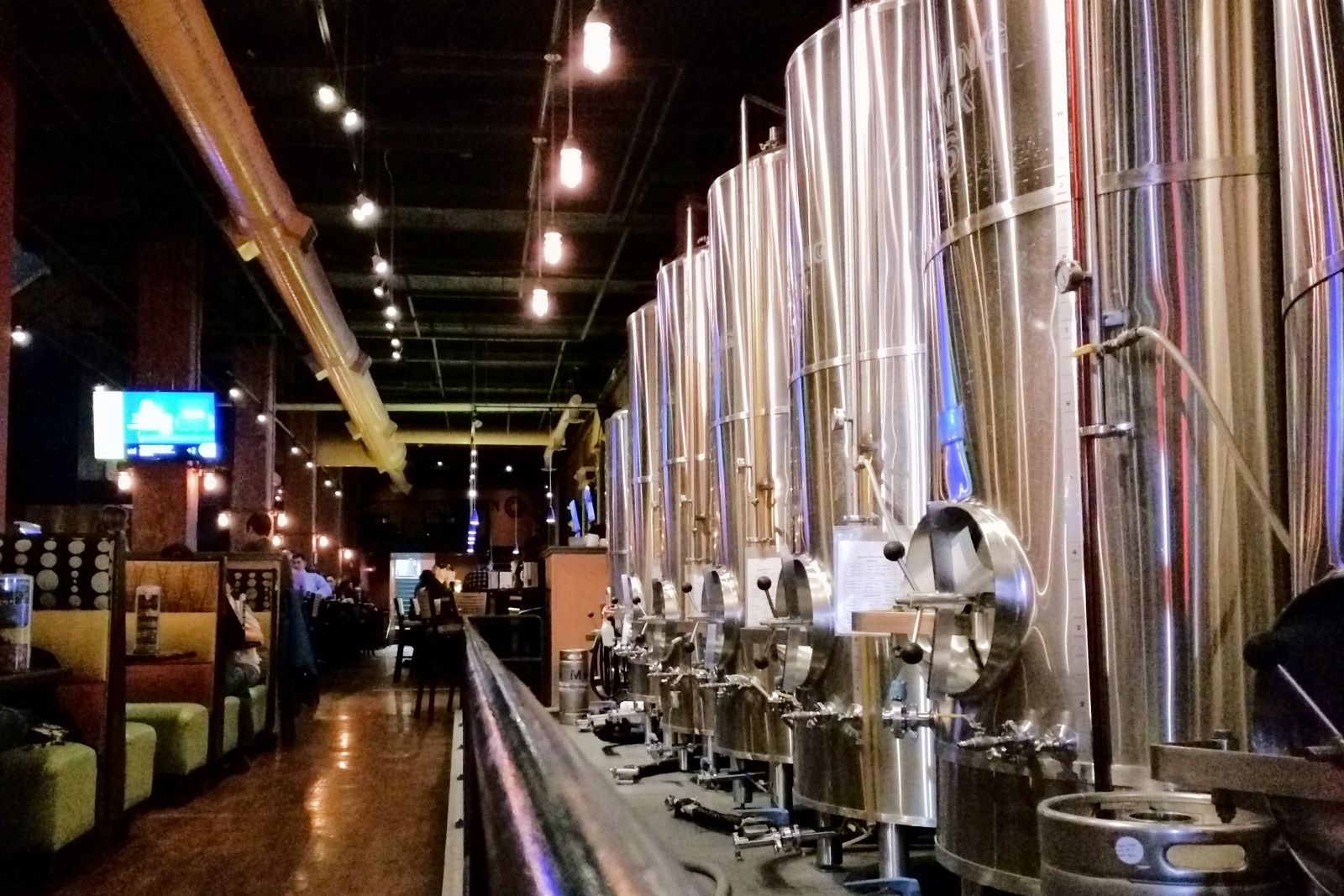 Fully Automated AV and Environmental Systems at Allentown Brew Works