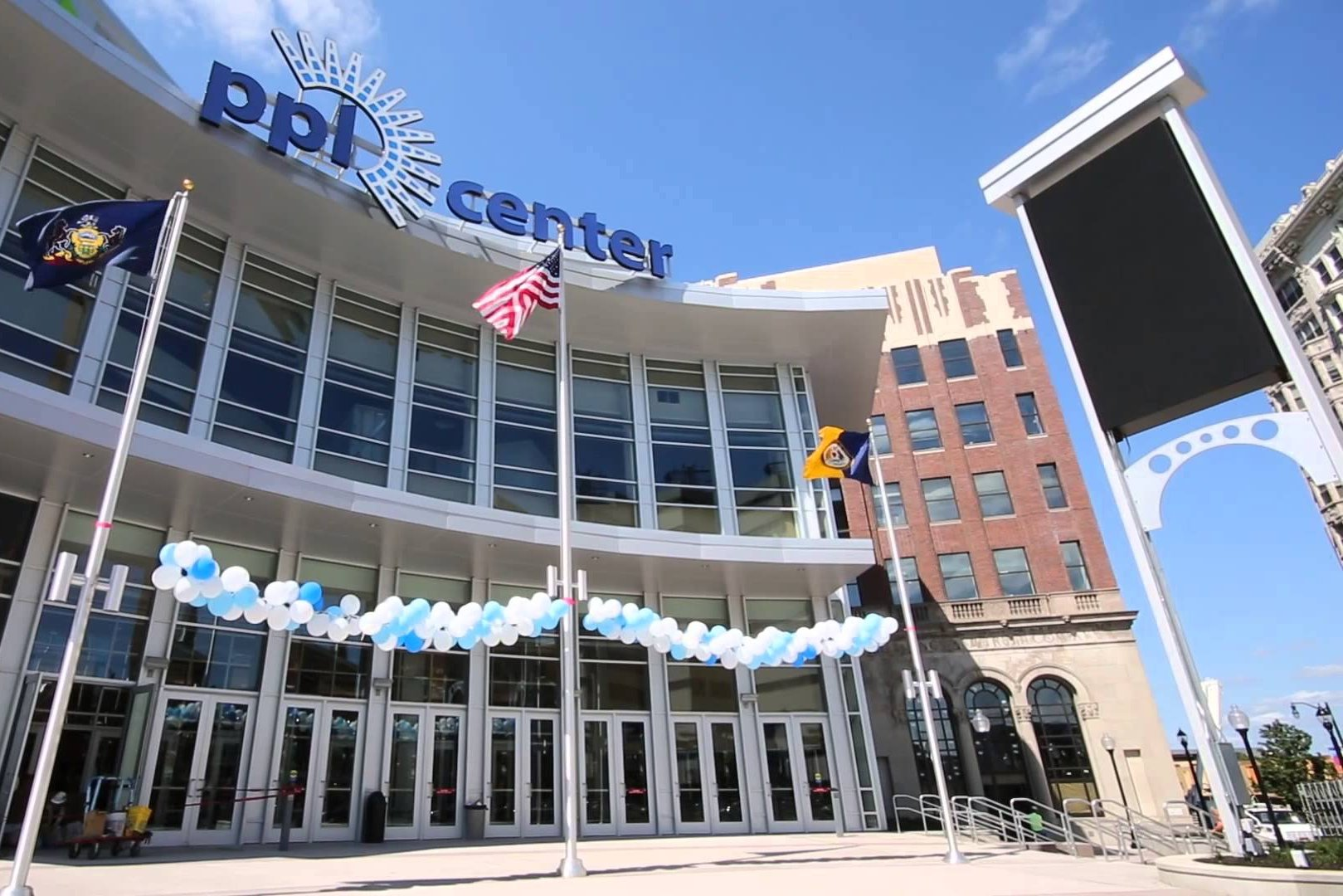 Commtech Provided AV and RF Distribution Systems in and Around PPL Center