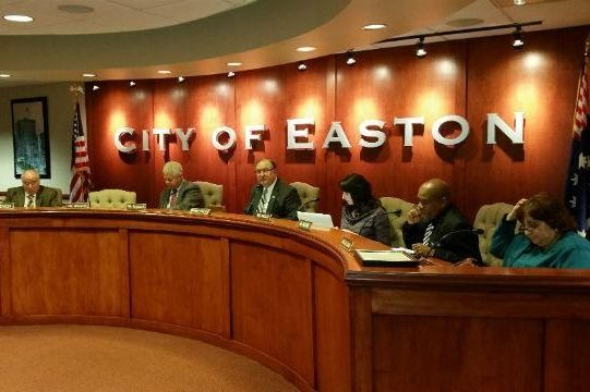 Easton's New City Hall Council Chamber
